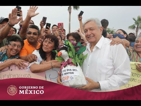 Entrega de #ProgramasBienestar, Desarrollo Urbano y Frontera Norte | Gobierno de México