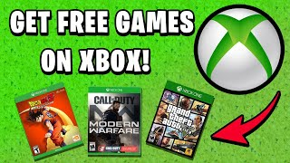 How To Get Free Games On Xbox One In 2020!  Only Legit Method!