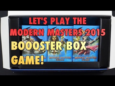 MTG - Let's play the Modern Masters Booster Box Game! Magic: The Gathering