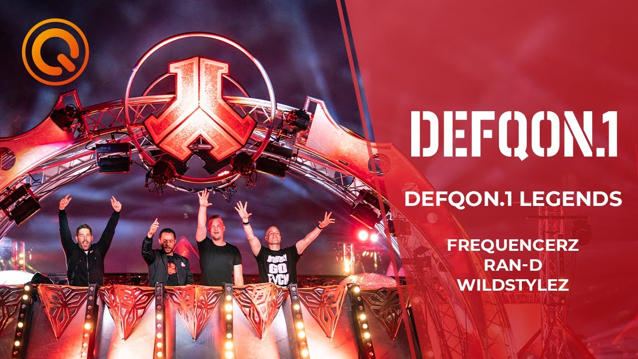 Defqon.1 Legends | Frequencerz, Ran-D & Wildstylez | Defqon.1 at Home 2020