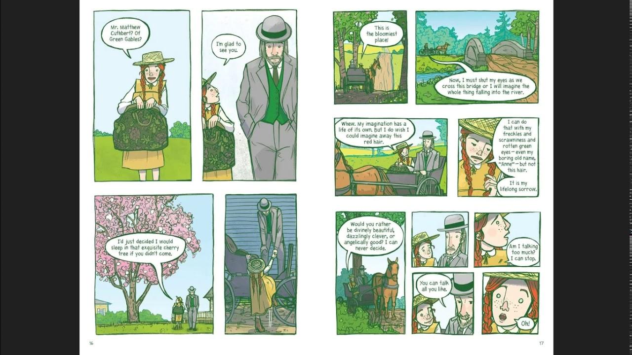 Anne of green gables GN