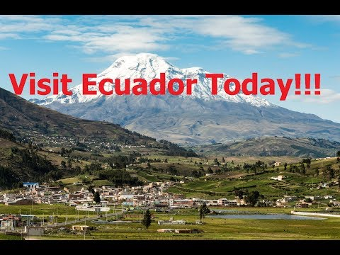 The BEST of Ecuador, DJI Drone Footage. Travel Today