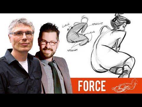 Drawing Dynamic Figures - The FORCE Method