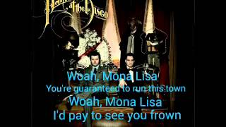 The Ballad Of Mona Lisa Lyrics (Album Version)