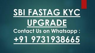 SBI fastag kyc online