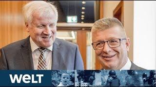 NACH CHEMNITZ-DESASTER: Seehofer stärkt neuen Verfassungsschutzchef Haldenwang den Rücken