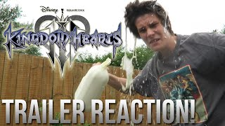KINGDOM HEARTS 3 First Trailer REACTION!