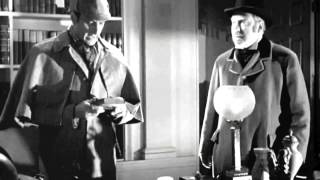 The Adventures of Sherlock Holmes   Basil Rathbone 1939 Clip