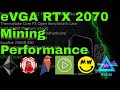 eVGA RTX 2070 Black Edition - How's it stack up on Cryptocurrency Mining?