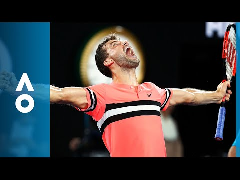 Grigor Dimitrov v Nick Kyrgios match highlights (4R) | Australian Open 2018