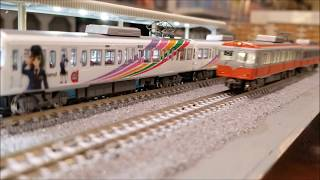 Nゲージ 鉄道模型 2017年12月14日 運転会動画Ⅱ