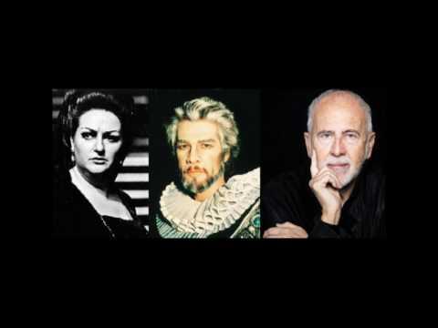 Entrance aria, Act II duet, Mad scene; Lucia di Lammermoor; Caballé, Sardinero & López Cobos