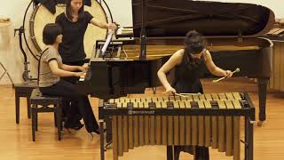 Afro Blue for vibraphone & piano duo