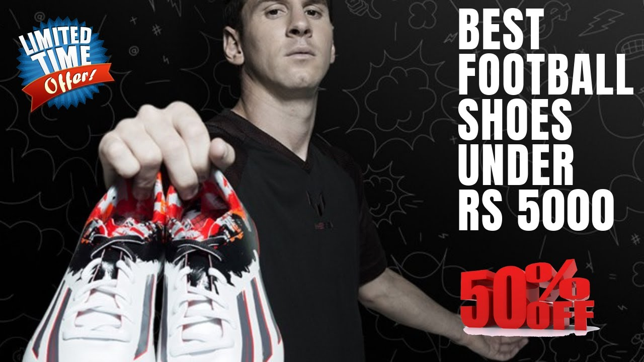 Top 10 Best Football Shoes Under Rs