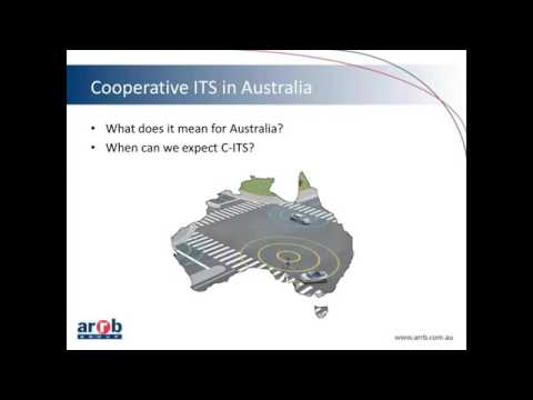 Cooperative Intelligent Transport Systems C ITS