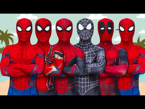 ALL SUPERHEROS STORY | SPIDER-MAN Journeys To Find New SUPERHEROS (Full Episode) | Funny Video