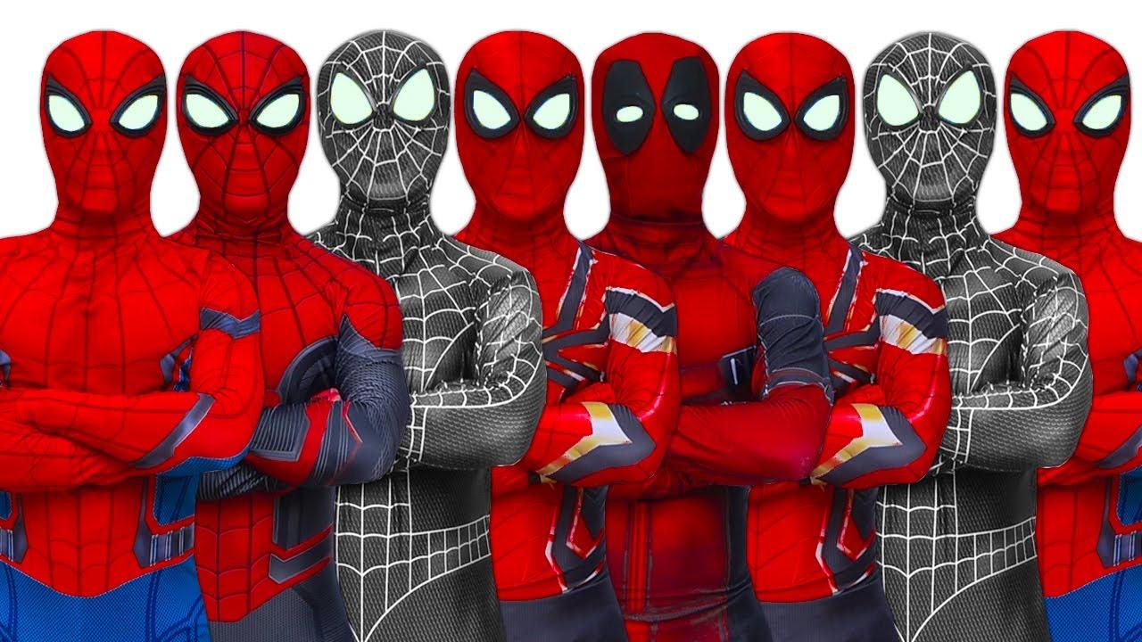 SUPERHEROS STORY | SPIDER-MAN Journeys to find new SUPERHEROS (Full Episode) | Funny Video