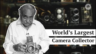 World Photography Day 2018 | The Man with Largest Camera Collection | World Photography Day