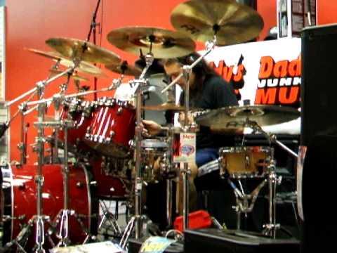 Daddys Junky Music Boston - Jason Bittner Live Performance