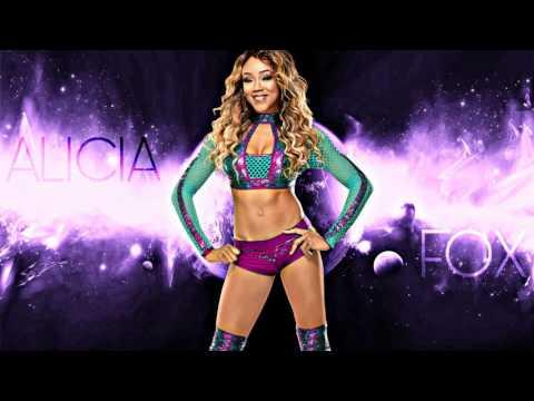 Alicia Fox 4th WWE Theme Song  Northern Lights Custom
