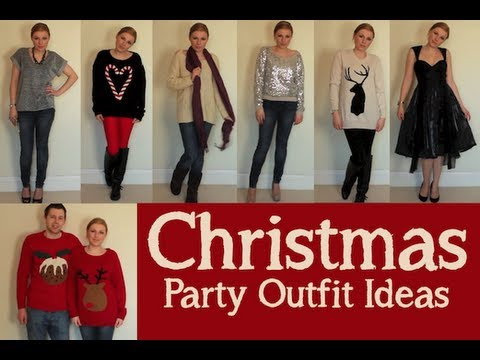 - Christmas Party Outfit Ideas - YouTube
