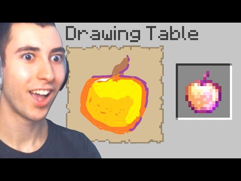 Minecraft But Any Item You Draw, You Get... - Bionic