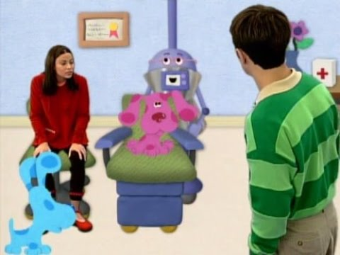 Blues Clues Magenta Gets Glasses Youtube