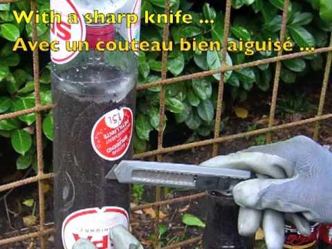 Bottle towers tours de bouteilles youtube - Planter des fraises en jardiniere ...
