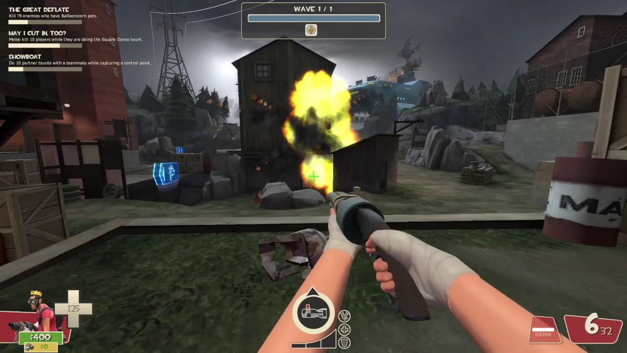 TF2: Custom MvM Bot: Rocket Sniper by Waffles