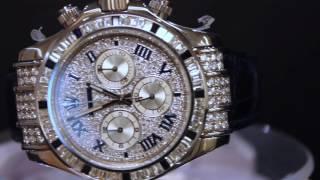 Бриллиантовый Rolex Daytona - швейцарские часы б/у - Коллекционер(, 2016-12-13T13:28:13.000Z)