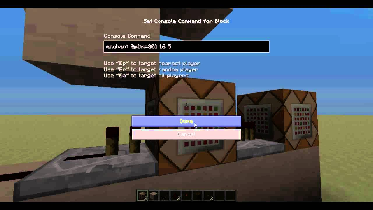Minecraft essentials exp command