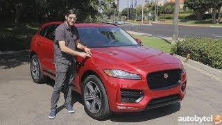 2018 Jaguar F-Pace 25t R-Sport Test Drive Video Review