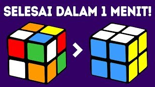 Cara Menyelesaikan Kubus Rubik 2x2 dalam Satu Menit | Tutorial Tercepat