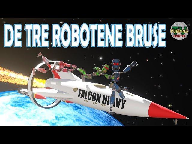 De tre robotene Bruse - Norske eventyr