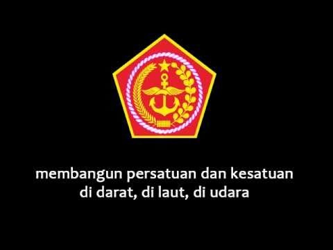 Mars Tentara Nasional Indonesia (TNI)