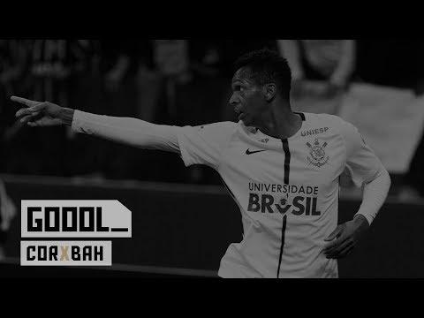 Gols - Corinthians 3x0 Bahia - Brasileirão 2017