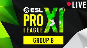 LIVE: Natus Vincere vs. Complexity Gaming - ESL Pro League Season 11 - Group B