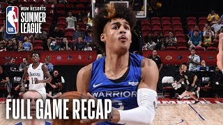 WARRIORS vs LAKERS | Jordan Poole Goes For 23 Pts In GSW Victory | MGM Resorts NBA Summer League