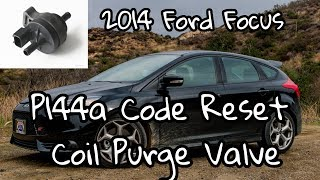 P144A Ford Evap purge valve replacement  2012 Ford Escape