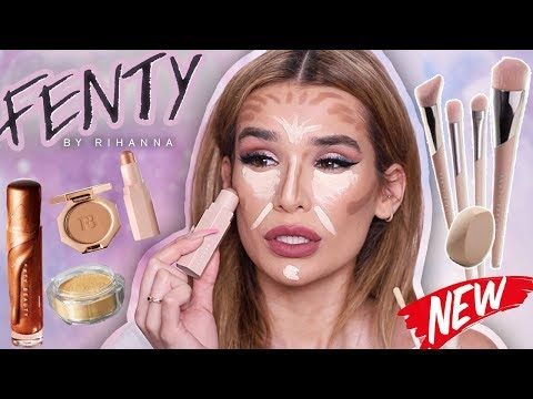 FULL FACE Testing FENTY BEAUTY... is it Worth the HYPE?