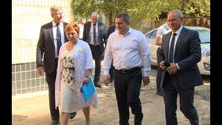Губернатор Андрей Бочаров проинспектировал реализацию проектов развития в Волжском