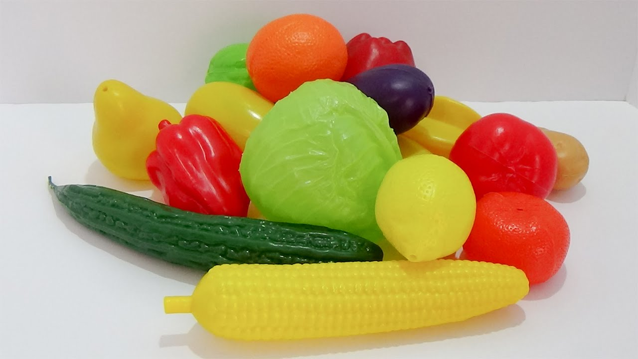 how to make vegetable toys