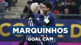 GOAL CAM | Every Angles | MARQUINHOS vs Reims