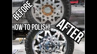 How to Sand and Polish Aluminum! American Forces & many others! HUGE DIFFERENCE