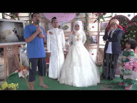 งานแต่งอิสลาม สัมภาษณ์บ่าวสาว ถ่ายเล่นๆ