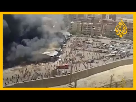 ???? حريق ضخم يأتي على سوق توشكى جنوب القاهرة  - نشر قبل 29 دقيقة