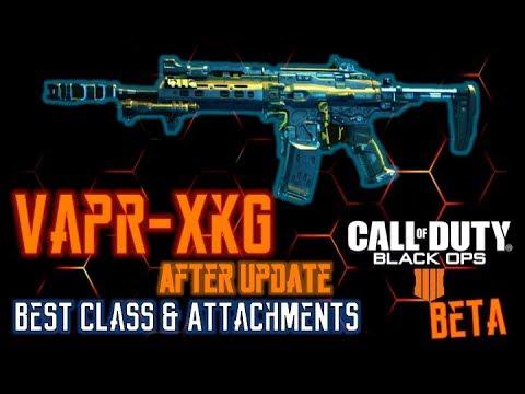 Best VAPR Class Setup (VAPR-XKG) AFTER Weekend 2 UPDATE (BEST ATTACHMENTS)  | Black Ops 4 BETA