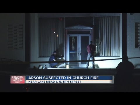 Fire At Church In North Las Vegas May Have Been Intentionally Set