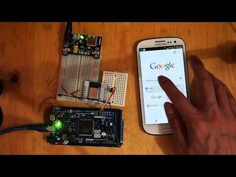 Arduino Due + ESP8266: Web Control LED