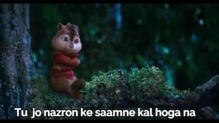 Naina song cute cartoon .